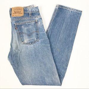 Vintage Levi's 505 High Waisted Mom Jeans